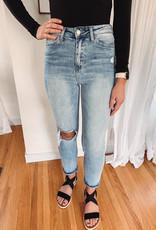 Kenzie High Rise Slim Straight Jean