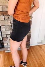 Kate Black Denim Shorts