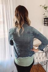 Sierra Distressed Denim Jacket