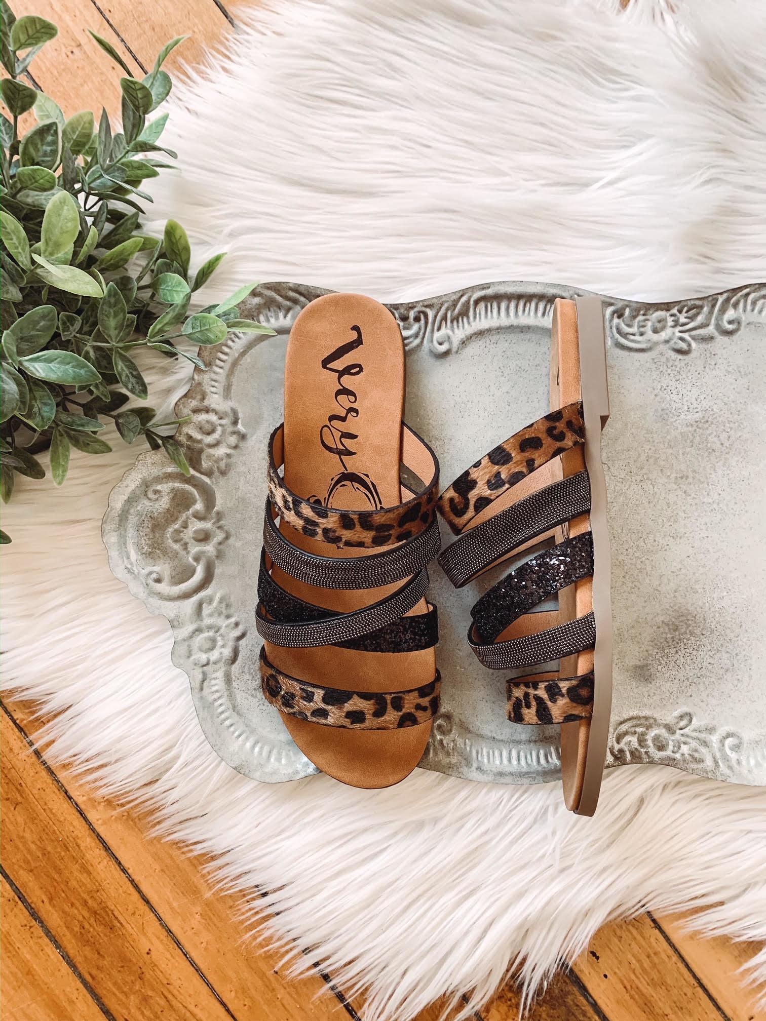 Lauren Vintage Black Sandal