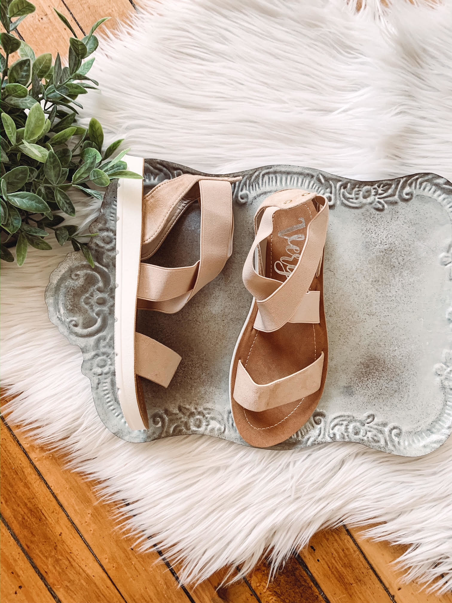 Misty Nude Sandal