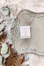 Remi Silver Hoop Earrings