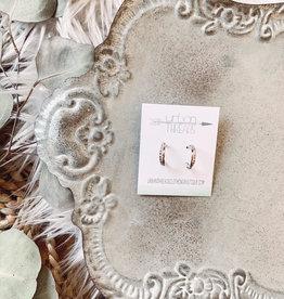 Isabel Silver Earrings