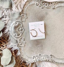 Willow Silver Earrings