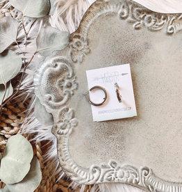 Kinsley Silver Earrings