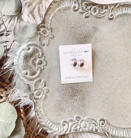 Taryn Silver Hoop Earrings