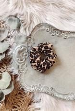 Gretta Leopard Scrunchie