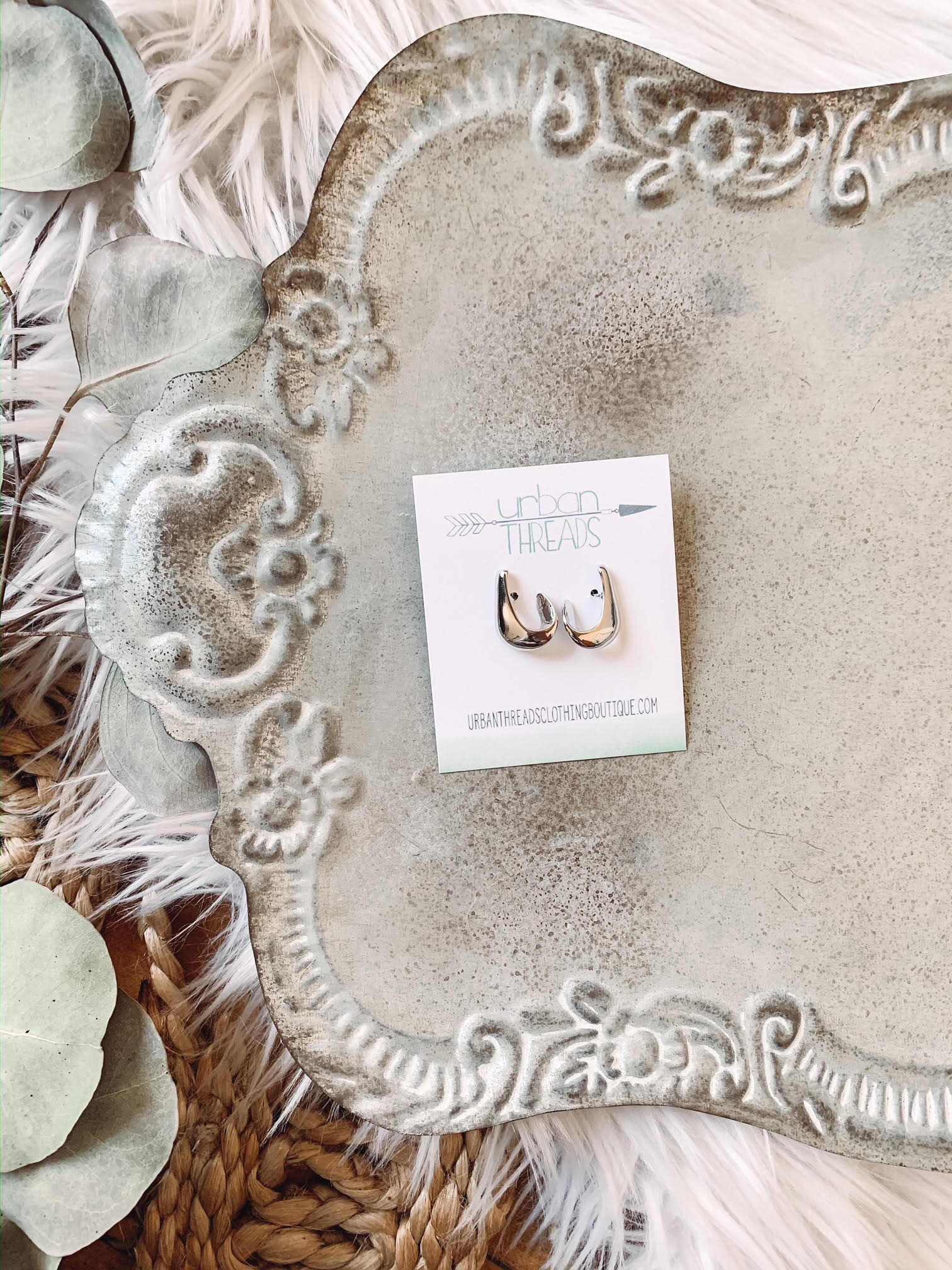 Bailey Silver Earrings