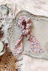 Laney Floral Tail Scrunchie