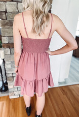 Kinsley Smocked Ruffle Dress
