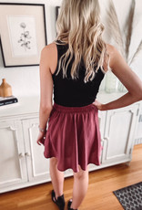 Madelyn Sienna Satin Skirt