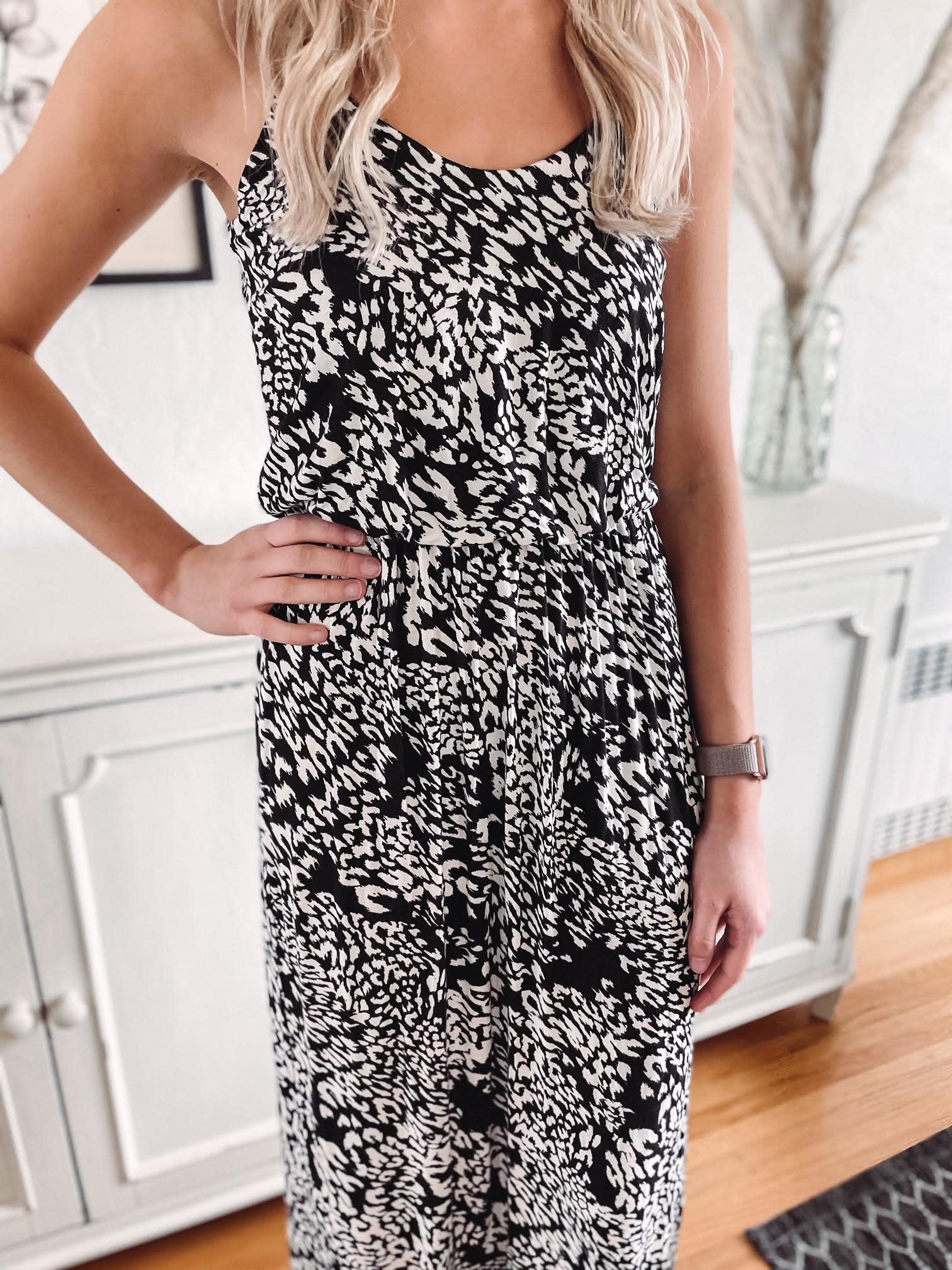 Jessika Spotted Maxi Dress