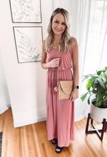 Jessika Brick Maxi Dress