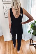 Tenley Black Jumpsuit