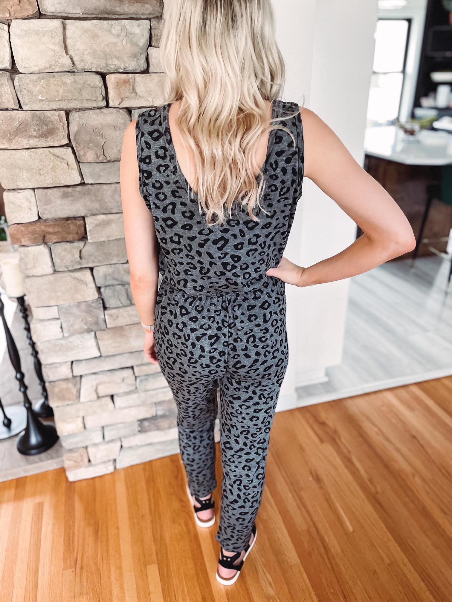 Whitney Leopard Jumpsuit