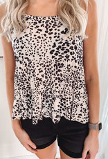 Willow Leopard Tiered Tank