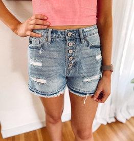 Lexi Light Wash Shorts