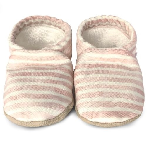 Everly Striped 0-6 Months Baby Shoes