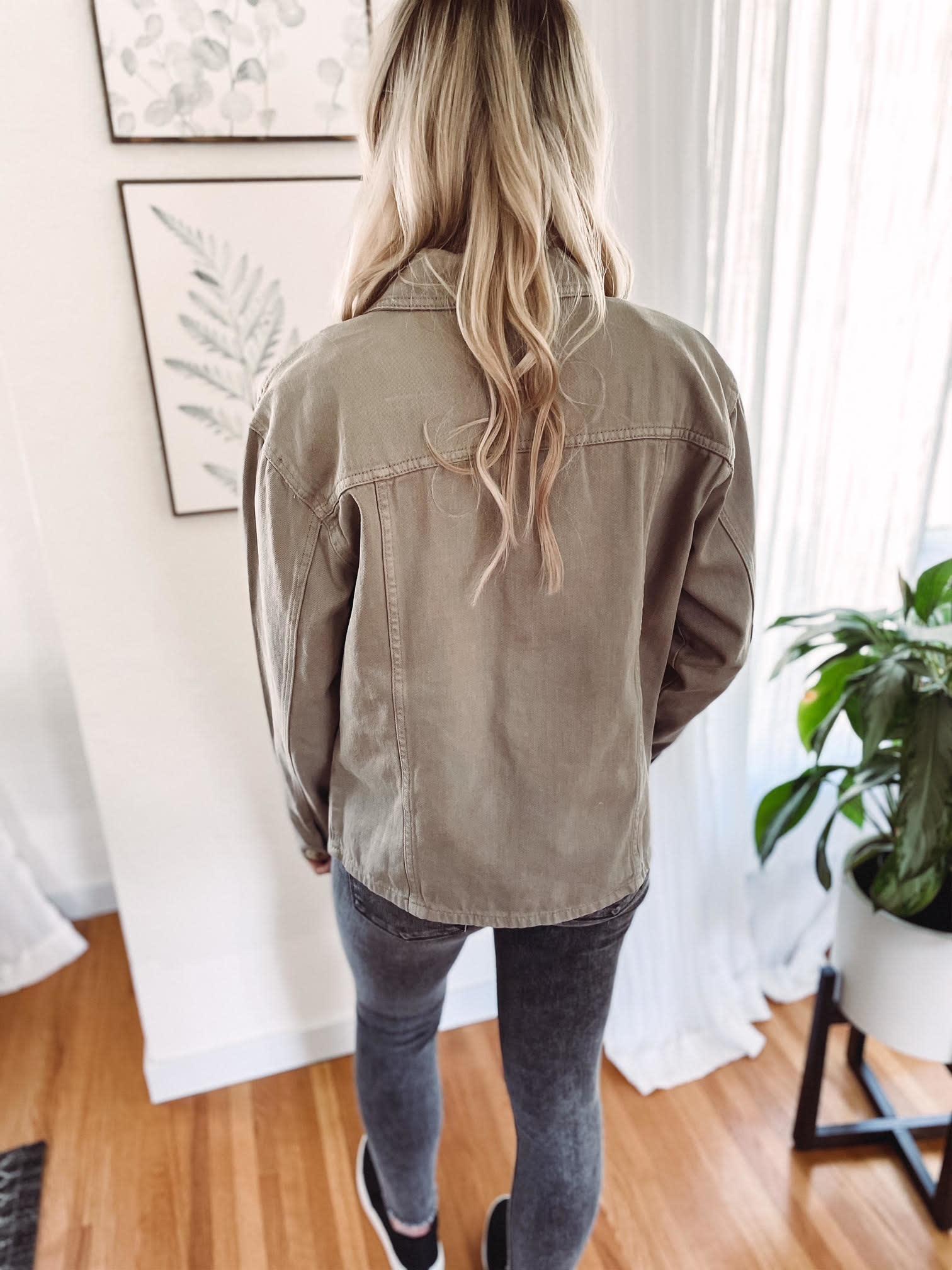 Willow Olive Utility Jacket