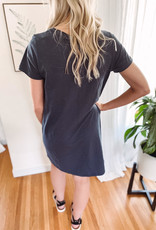 Kinsley Navy T-Shirt Dress