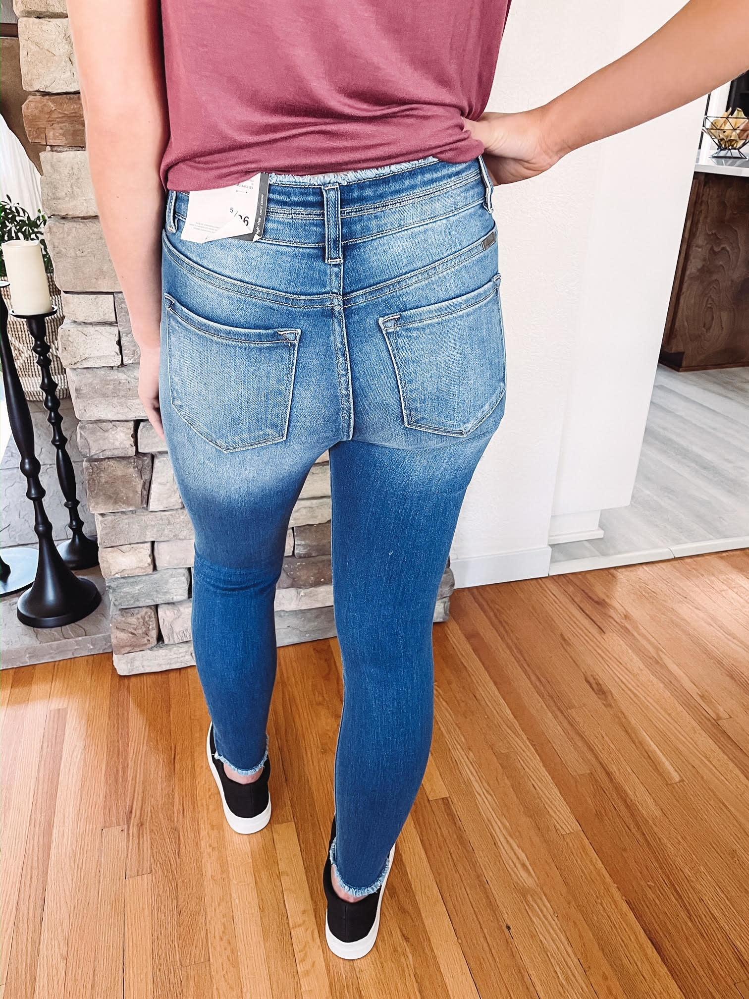 Hazel High Rise Skinny Jeans