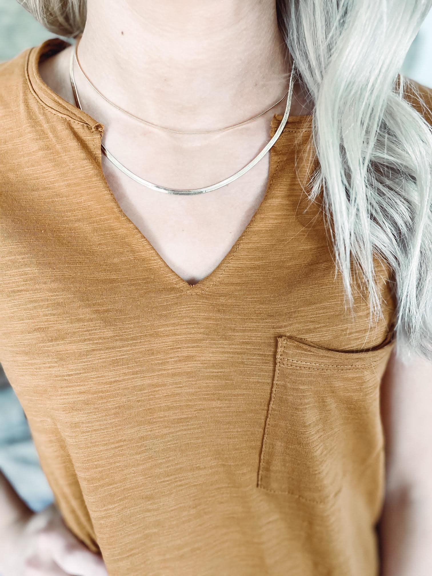 Whitney Gold Layered Necklace