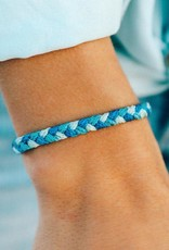 PuraVida Out of the Blue Braided Bracelet
