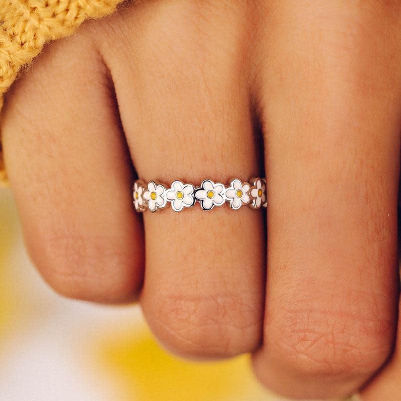 PuraVida Painted Blooms Ring