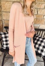 Kinsley Pink Cardigan