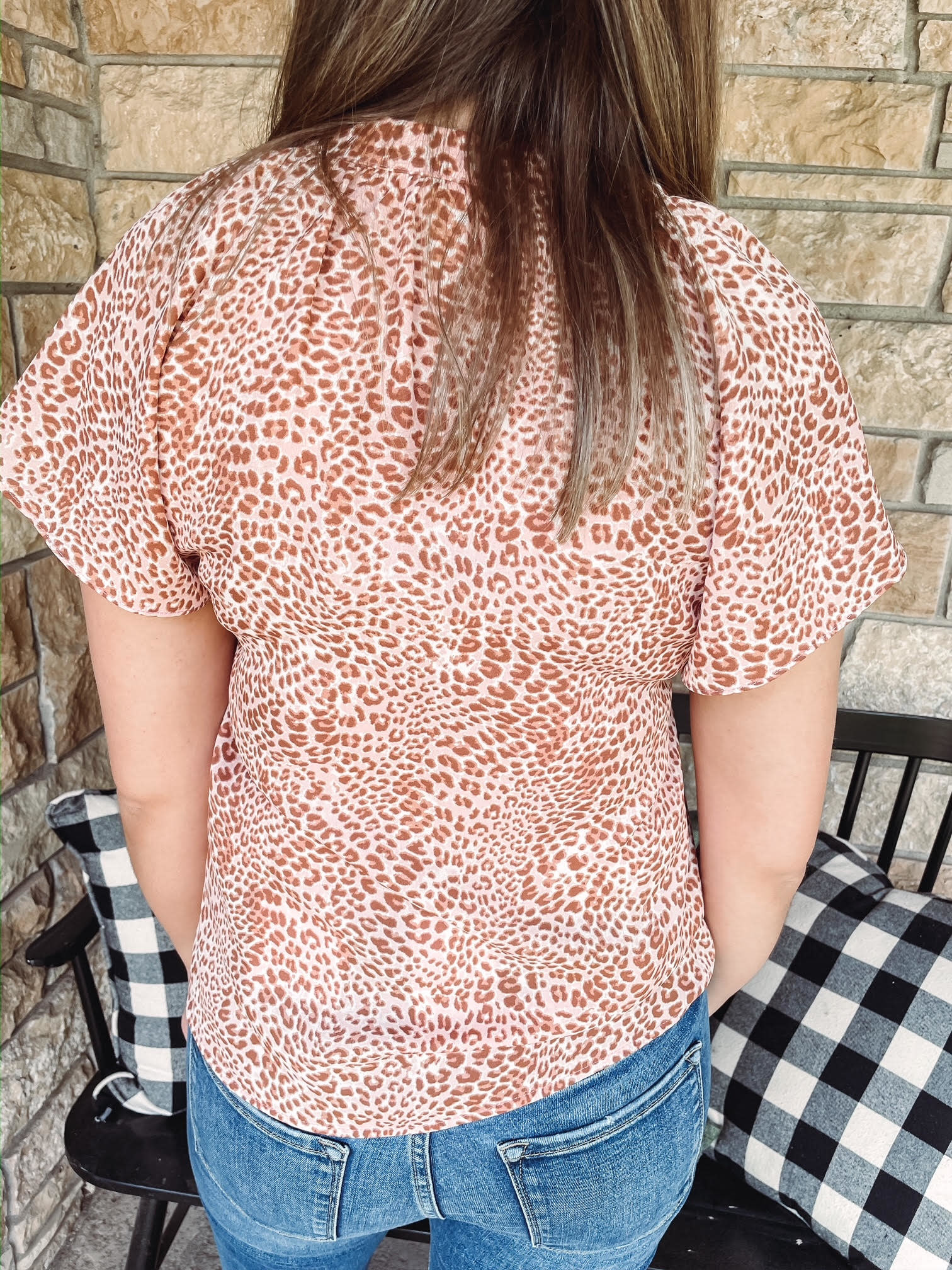 Abigail Leopard Shirt