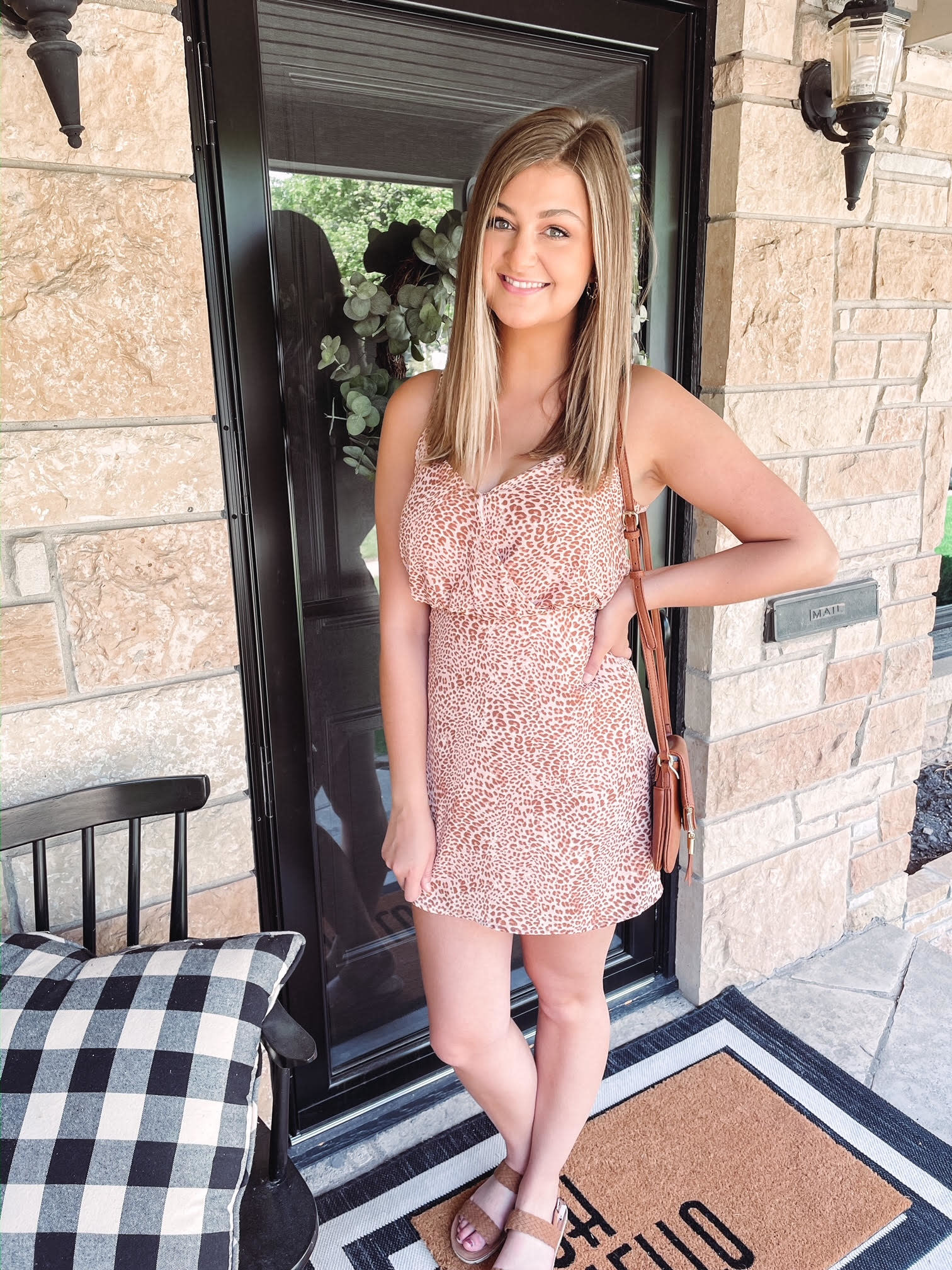 Abigail Leopard Dress