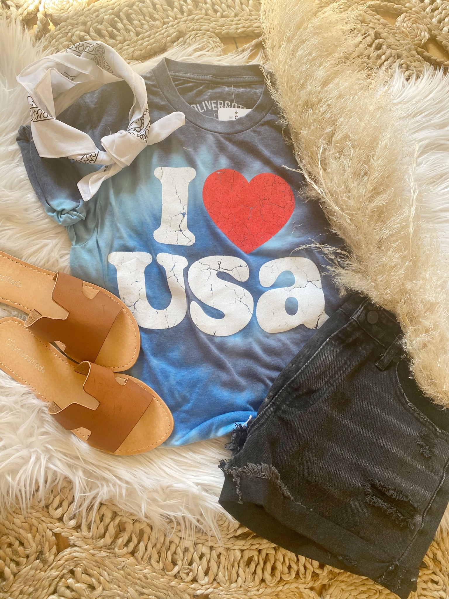 I Heart The USA Tee