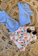 Floral Ruffled Bikini