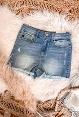 Laney High Rise Frayed Shorts
