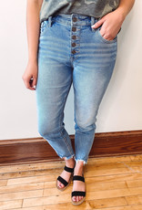 Indy High Rise Slim Straight Jeans