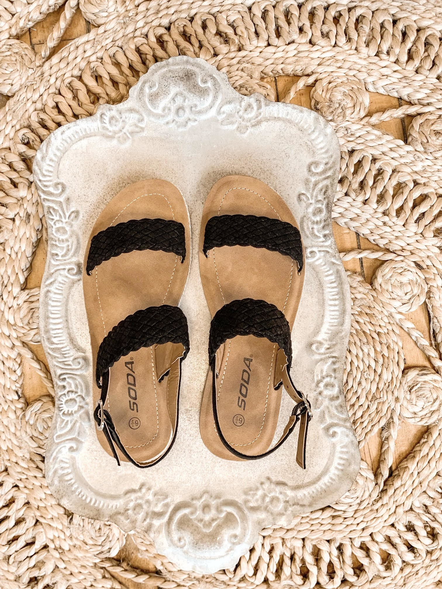 Skylar Black Sandal