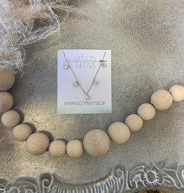 Ellie Silver Stars Necklace