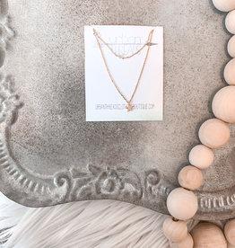 Bri Layered Stars Necklace