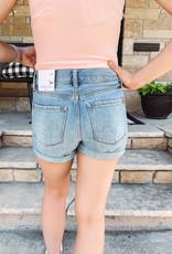 Maggie High Rise Cuffed Shorts