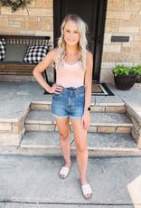Isla High Rise Ruffled Shorts