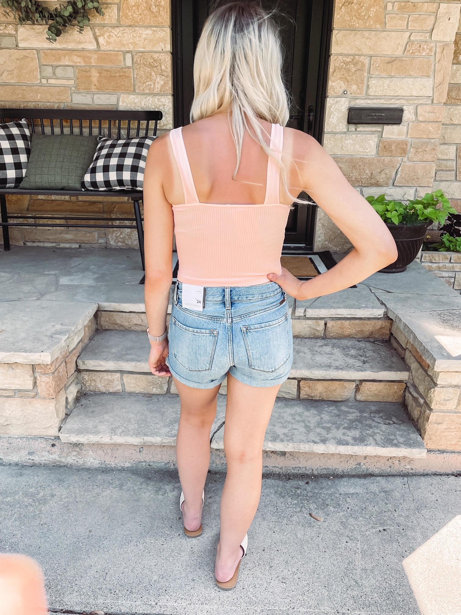 Pink Sand Crop Top