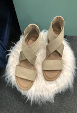 Taupe Heeled Sandal