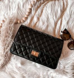 Claire Black Crossbody Bag