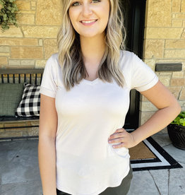 Paige Sand V-Neck