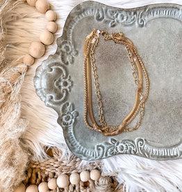 Kayla Gold Layered Necklace