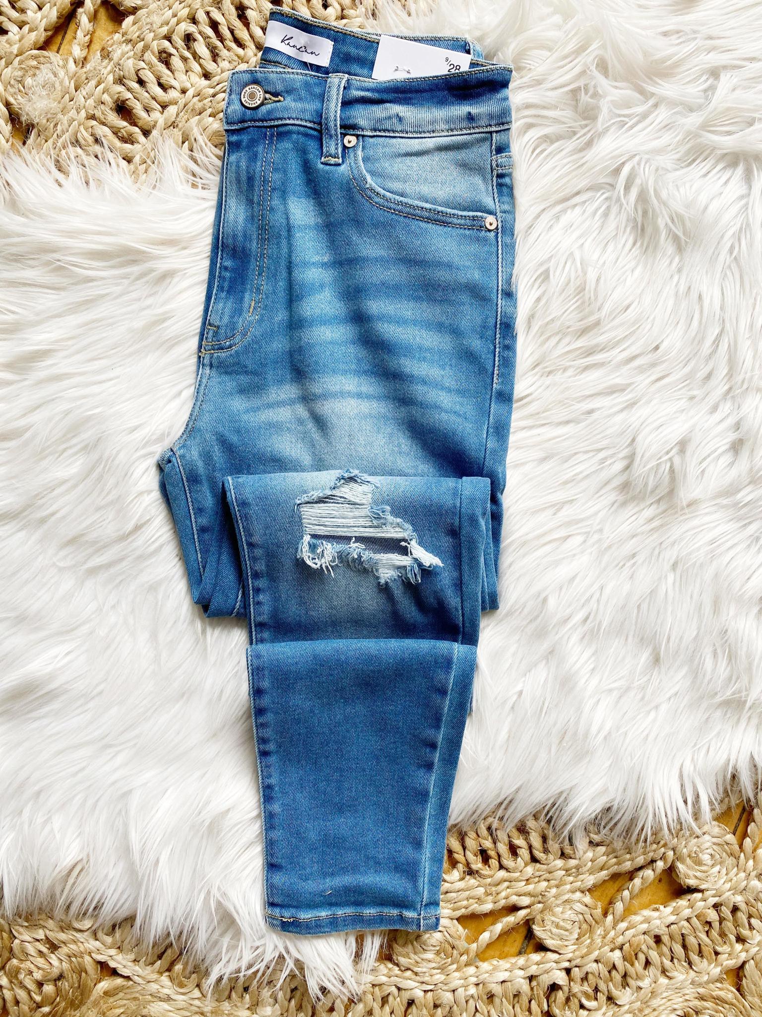Ivy Distressed Skinny Jeans