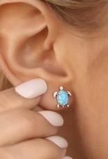 PuraVida Opal Sea Turtle Earring
