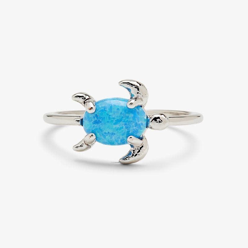PuraVida Opal Sea Turtle Ring