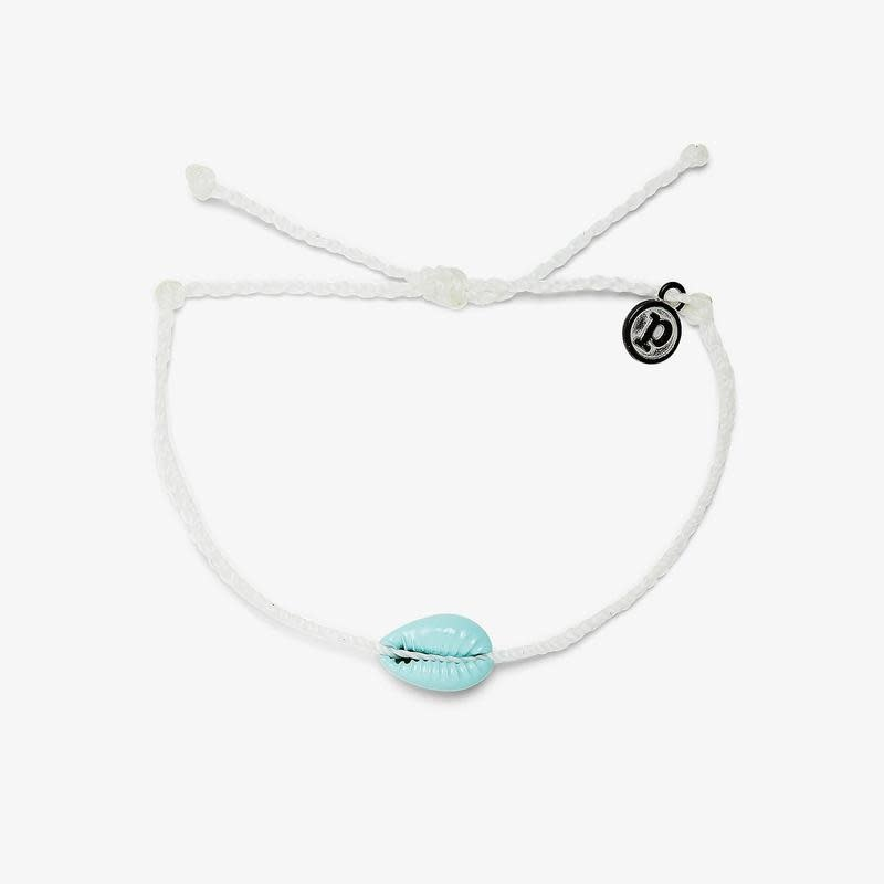 PuraVida Candy Blue Cowrie Bracelet