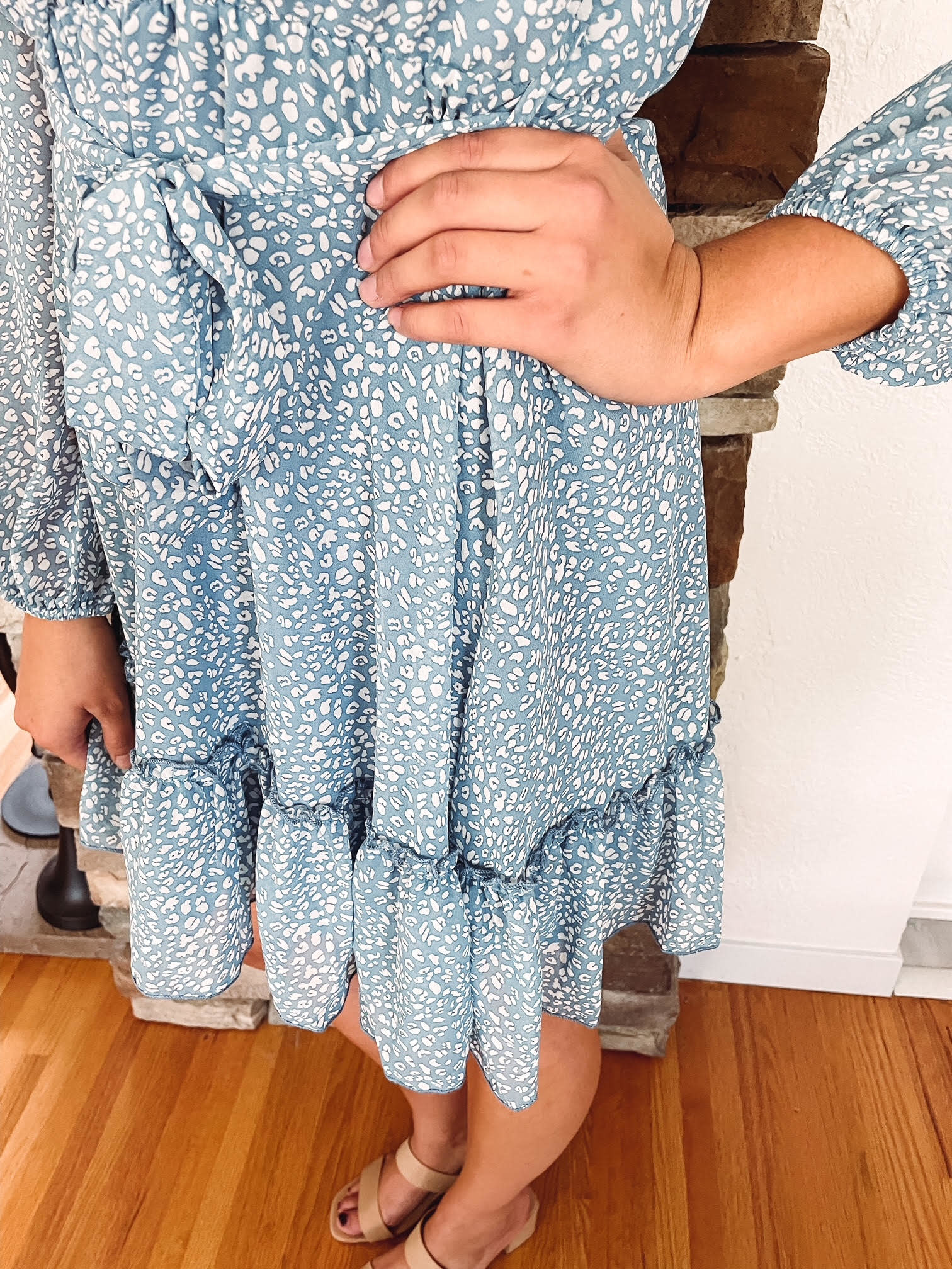 Stella Blue Animal Print Dress